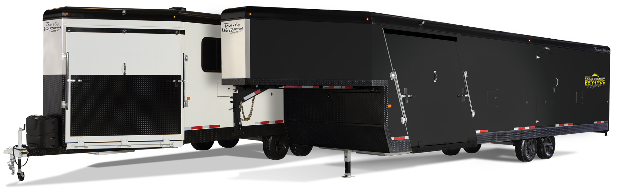 Enclosed Snowmobile Trailers - Gooseneck & Bumper Pull