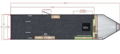 28 Ft Gooseneck Snowmobile Trailer Blueprint