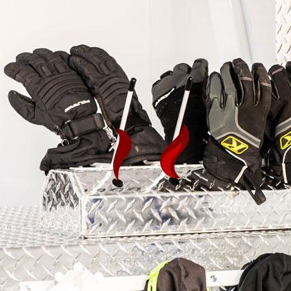 Heated Glove Holders